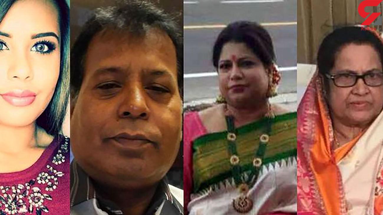 قتل عام وحشتناک 4 عضو یک خانواده / پسر جوان سر همه را برید + عکس