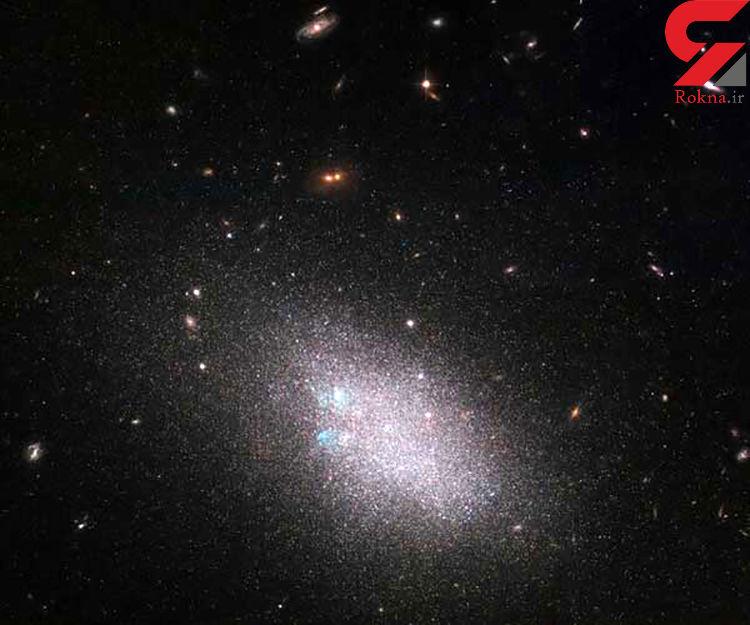 کهکشان های کوتوله در یک تصویر