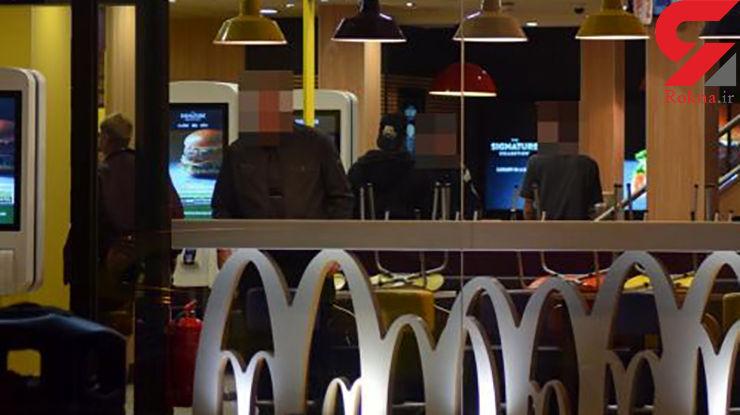 حمله به یک رستوران در انگلیس+عکس
