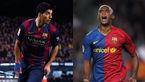 پیشی گرفتن سوارز از اتوئو در جدول بهترین گلزنان تاریخ بارسلونا + فیلم