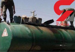 کشف 2 هزار بشکه قاچاق سوخت در ماکو