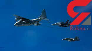 انفجار مرگبار دوهواپیمای نظامی آمریکایی هنگام سوخت گیری در آسمان