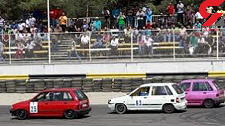درخشش خوزستانیها در مسابقات اتومبیلرانی درگ کشور