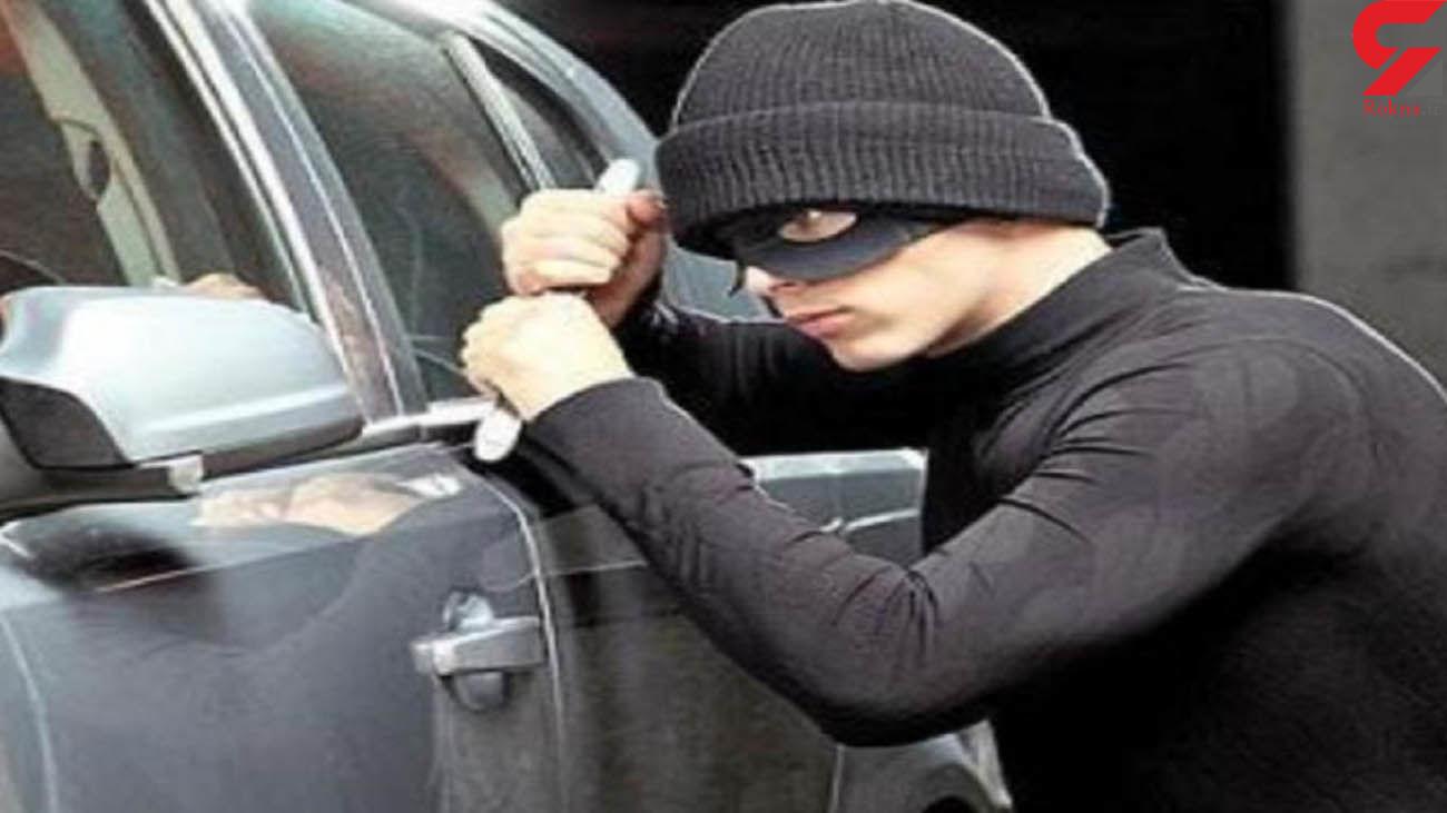 دستگیری سارقان خودرو با 10 فقره سرقت در کرج