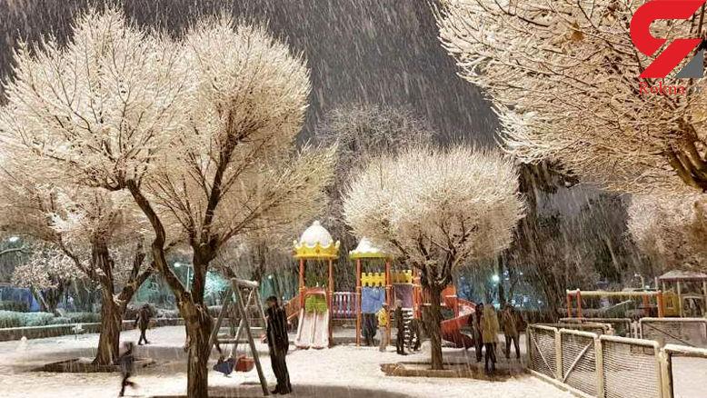 آسمان ایران برفی و بارانی میشود