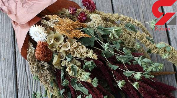 فوت و فن های خشک کردن گل های یادگاری