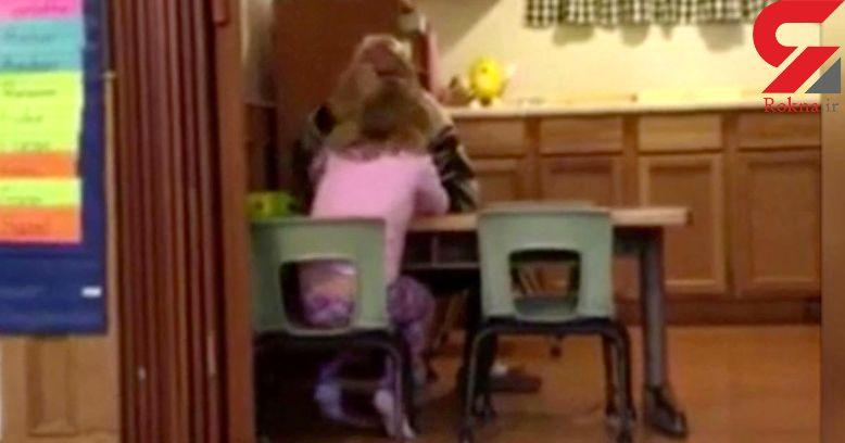 برخورد غیرانسانی مربی مهدکودک با دختر 4 ساله +فیلم و عکس