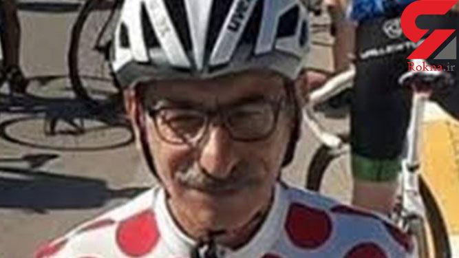 دوچرخهسوار 65 ساله شیرازی بر سکوی جهانی