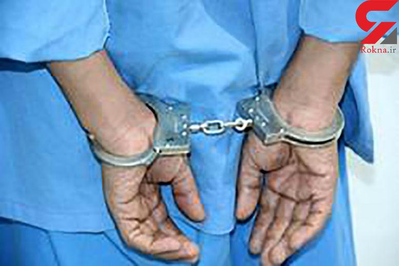 مسافرکش مسلح خطرناک آبادانی دستگیر شد