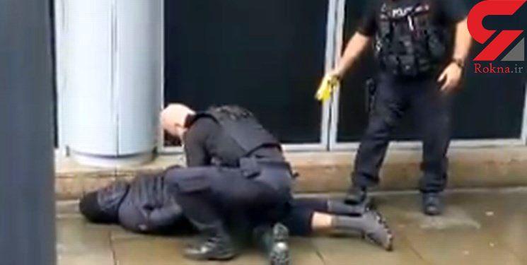 حمله به مرکز خریدی در انگلیس / ضارب با چاقو به شهروندان حمله ور شد + عکس
