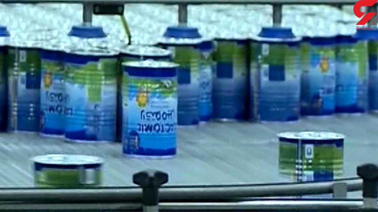 کشف محموله 10 تنی شیر خشک قاچاق در زاهدان