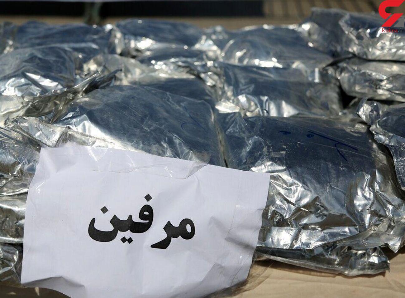 اسکورت محموله ای عجیب در شیراز / توقیف فوری 2 خودروی مشکوک