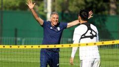 فوتبالیست های تیم ملی ایران در روسیه شب ها فیلم نجات سرباز رایان را می بینند
