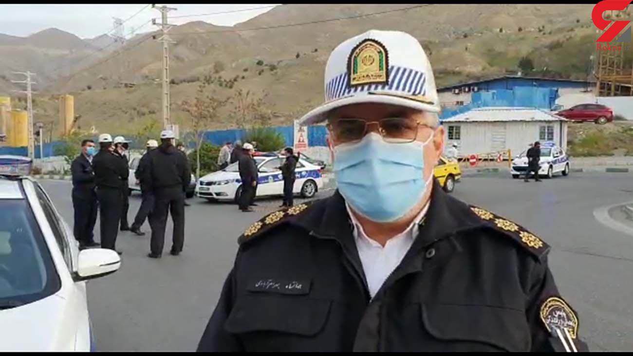 ترافیک در روز سیزدهم فرودین در تهران چگونه است؟