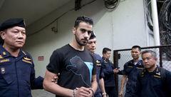فوتبالیست بحرینی در تایلند به دردسر افتاد +عکس