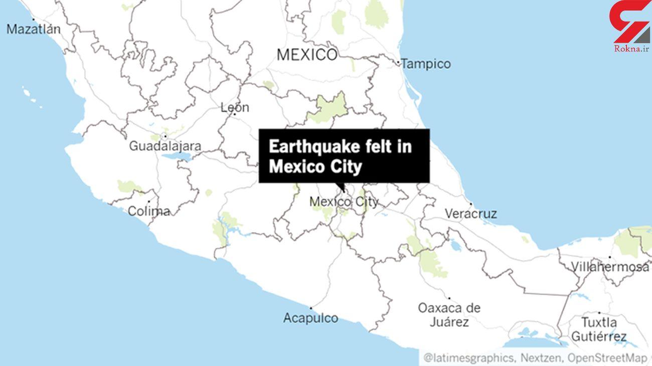 زلزلهی ۵/۴ ریشتری در مکزیک