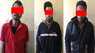 این 3 مرد آبادان را نا امن کرده بودند +عکس