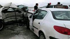 یک کشته و 8 مصدوم حاصل برخورد پژو با سمند