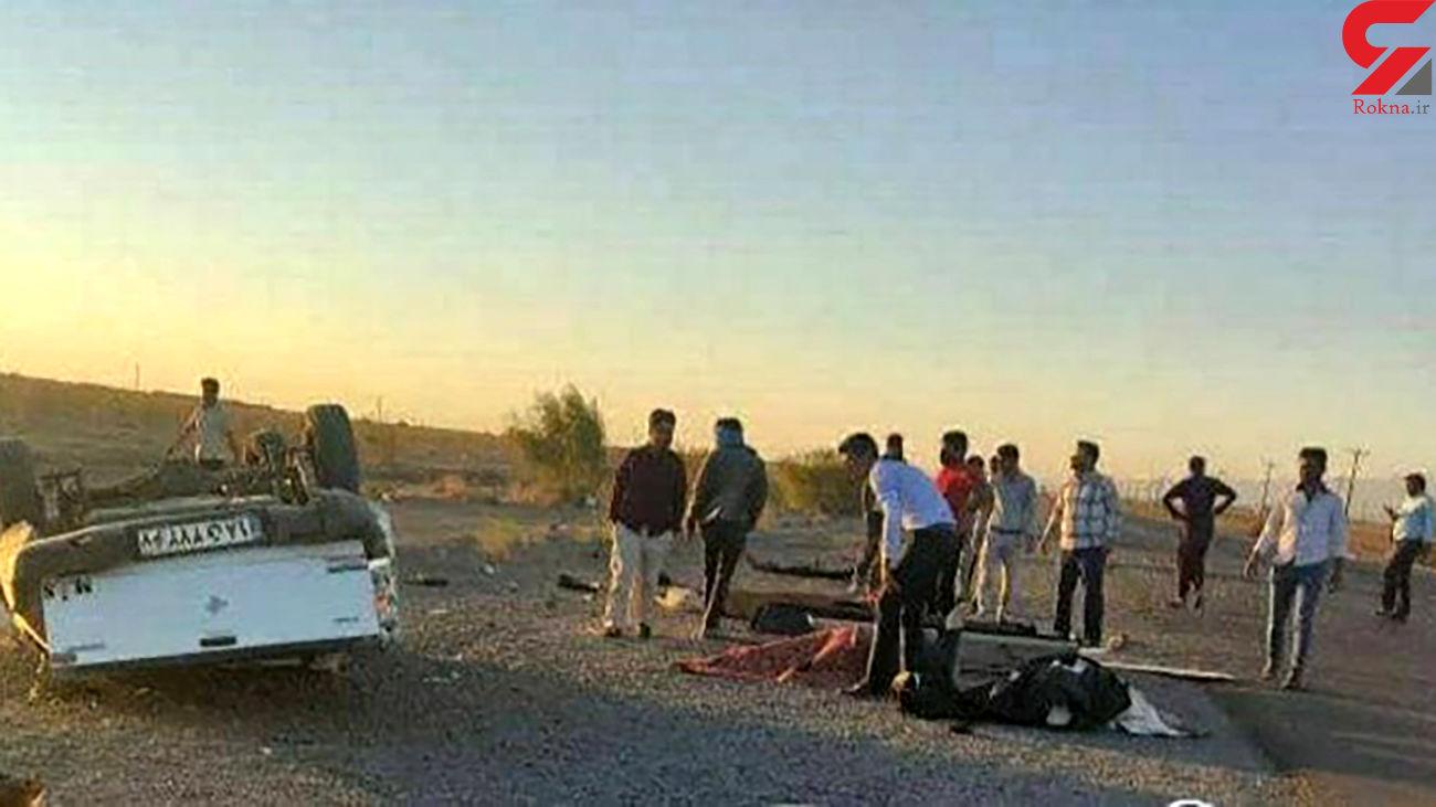 جنازه مرد افغان به مقصد نرسید / 3 جنازه با هم راهی خواف شد + عکس