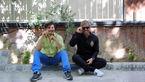 گریم متفاوت و عجیب محمدرضا گلزار و جواد عزتی در فیلمی جدید + عکس