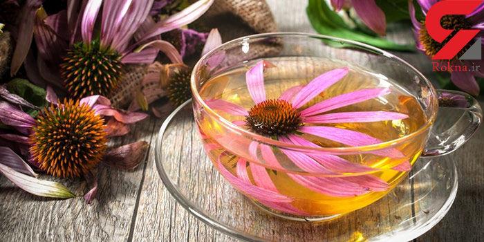 درمان خشکی دهان با نوشیدن یک چای گیاهی