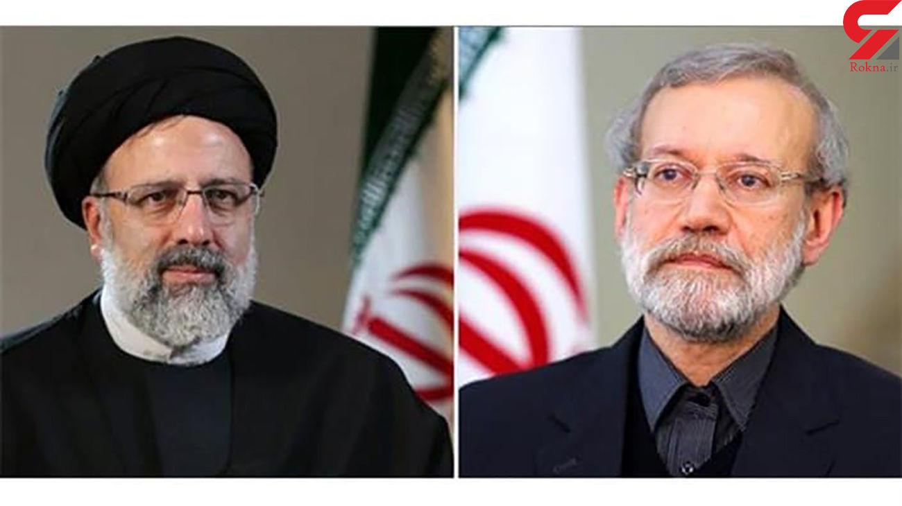 لاریجانی در مقابل رئیسی در انتخابات 1400شانسی ندارد