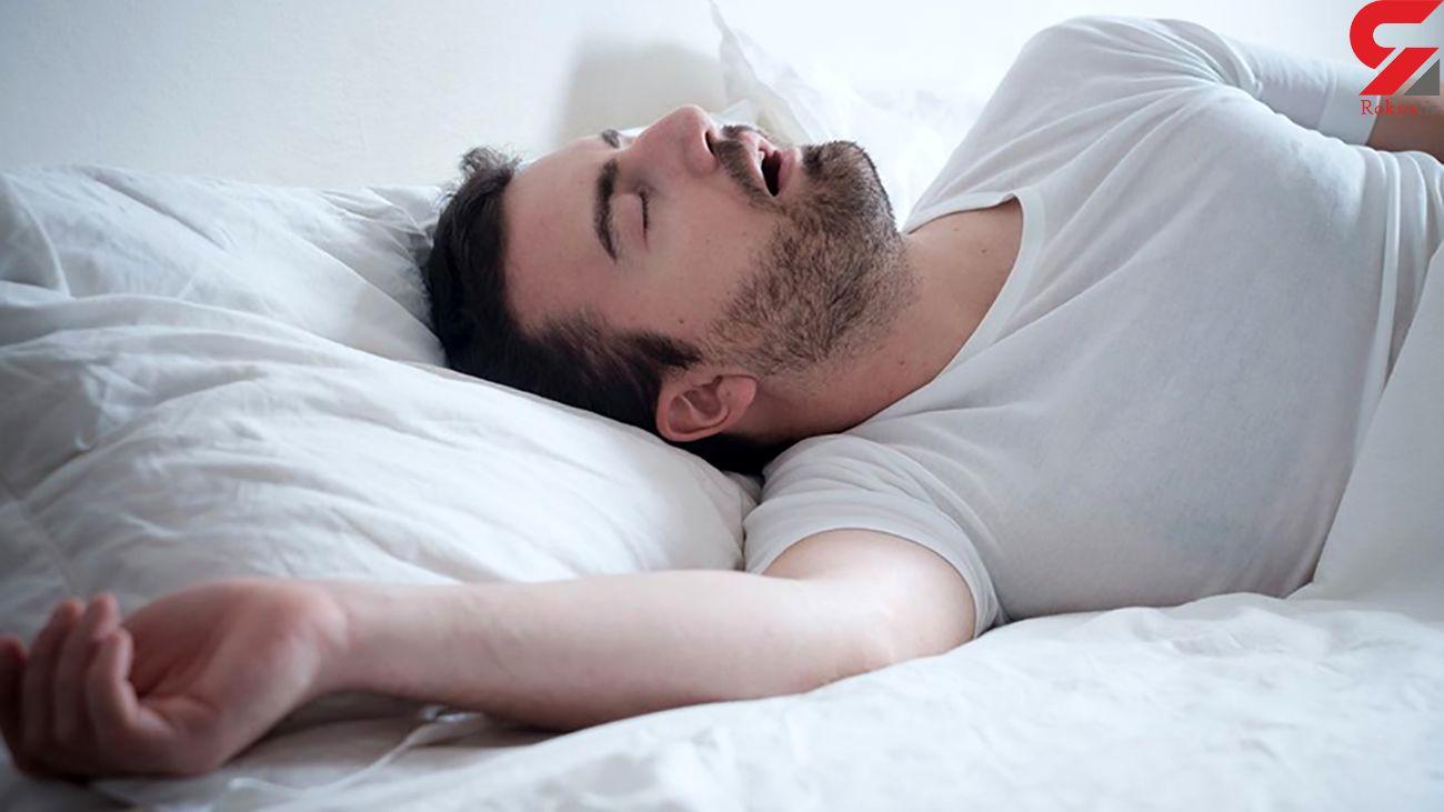 چطور در خواب خروپف نکنیم؟