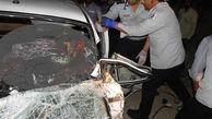 تصادف زنجیره ای مرگبار در محور الیگودرز-اصفهان