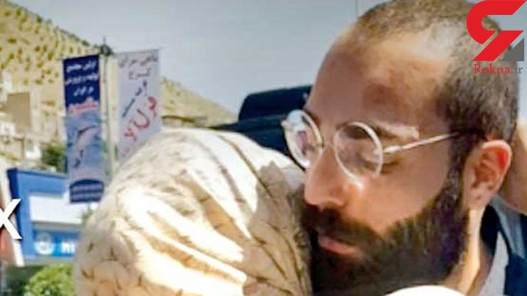 حمید صفت باز به زندان بر می گردد + عکس آزادی