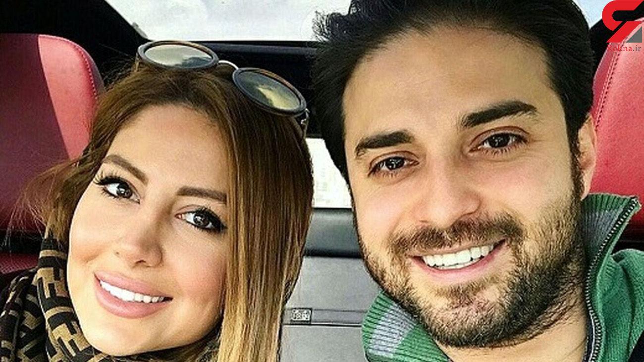 تفریح لاکچری بابک جهانبخش و همسرش در خلیج فارس+ عکس
