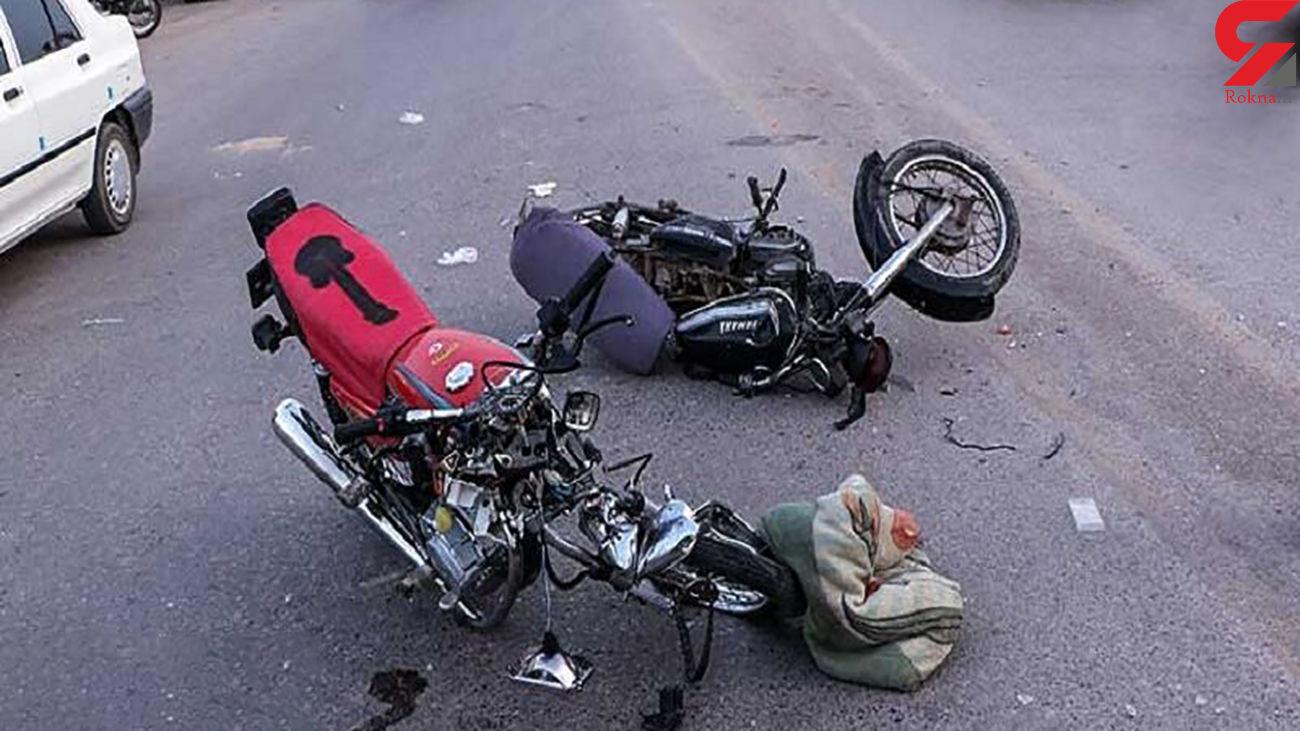 تصادف 2 موتور 3 همدانی را به کشتن داد