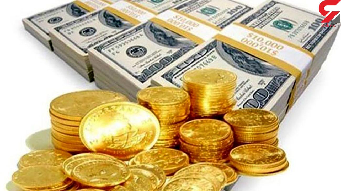 افت قیمت سکه و دلار در بازار