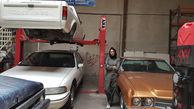 """گفتگو با """"سحر """" ، دختر مکانیک ماشین های سنگین در شهریار + فیلم"""