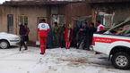 امدادرسانی به 8 خانوار قاینی گرفتار در برف