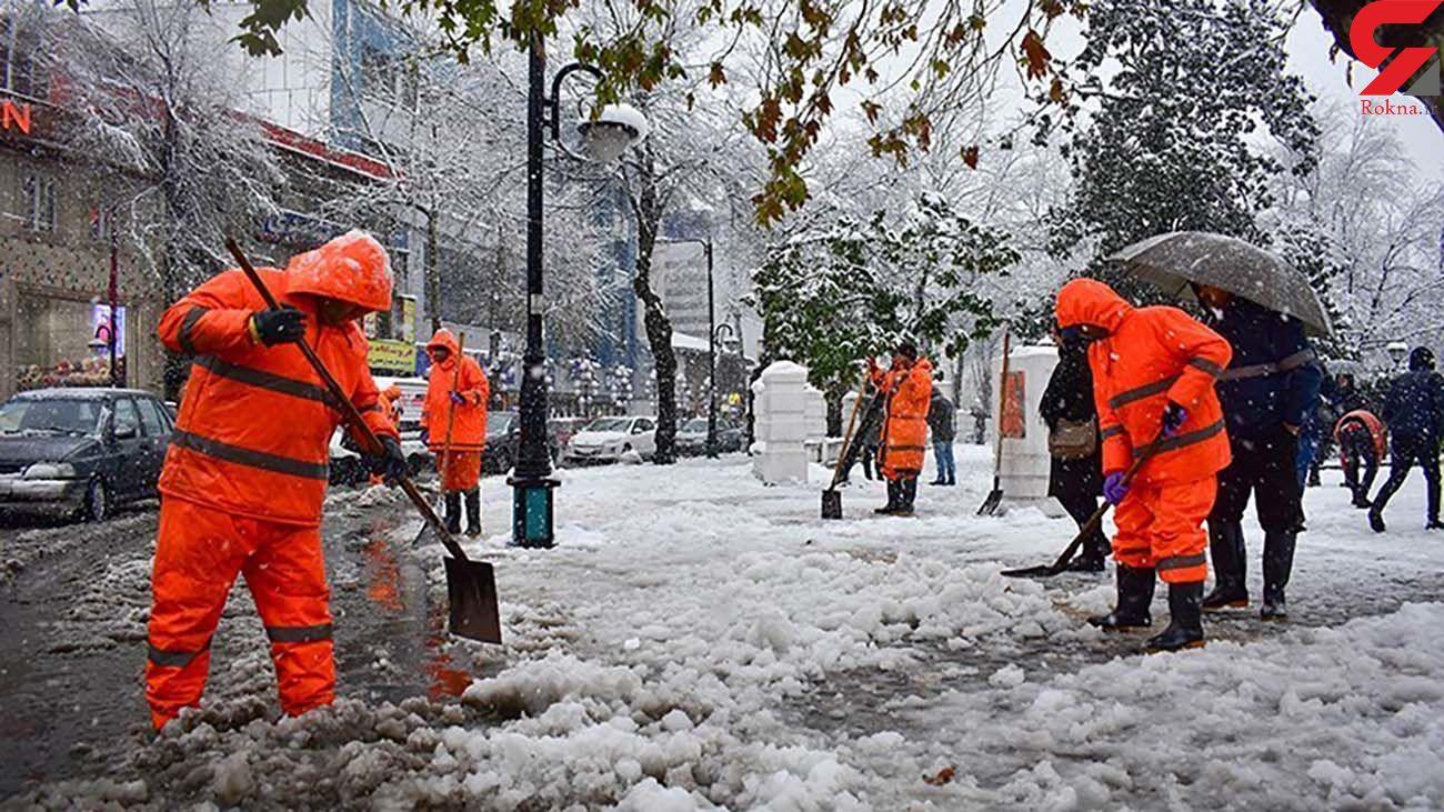 هواشناسی امروز تا دوشنبه / برف و باران در 12 استان