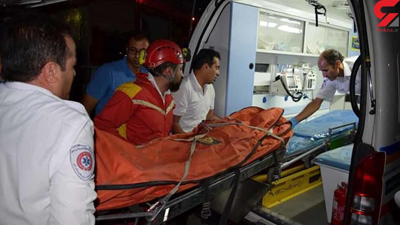 مرگ دردناک 3 نفر در تصادف رانندگی در جاده بوشهر-گناوه