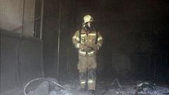 نجات ۴ نفر از آتش در رستوران + تصاویر