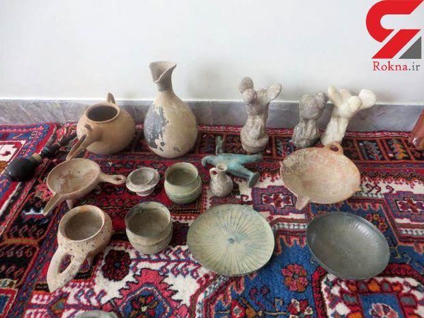 پیدا شدن آثار باستانی عصر آهن در همدان + عکس