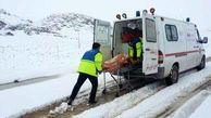 نجات ۱۰۸ خانم باردار گرفتار در برف و کولاک فقط در 48 ساعت