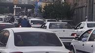 وضعیت ترافیک تهران روز دوشنبه 21 تیر
