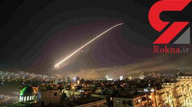 آمریکا با ۱۴ موشک مواضع ارتش سوریه را هدف قرار داد