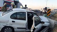 حادثه مرگبار در قزوین / بی توجهی راننده ساندرو سبب مرگش شد