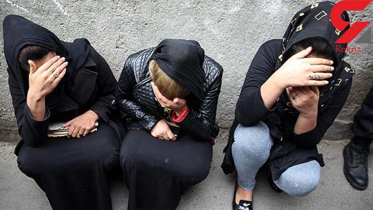 تصاویر دیده نشده از دستگیری زنان و مردان مواد فروش در مشهد+عکس