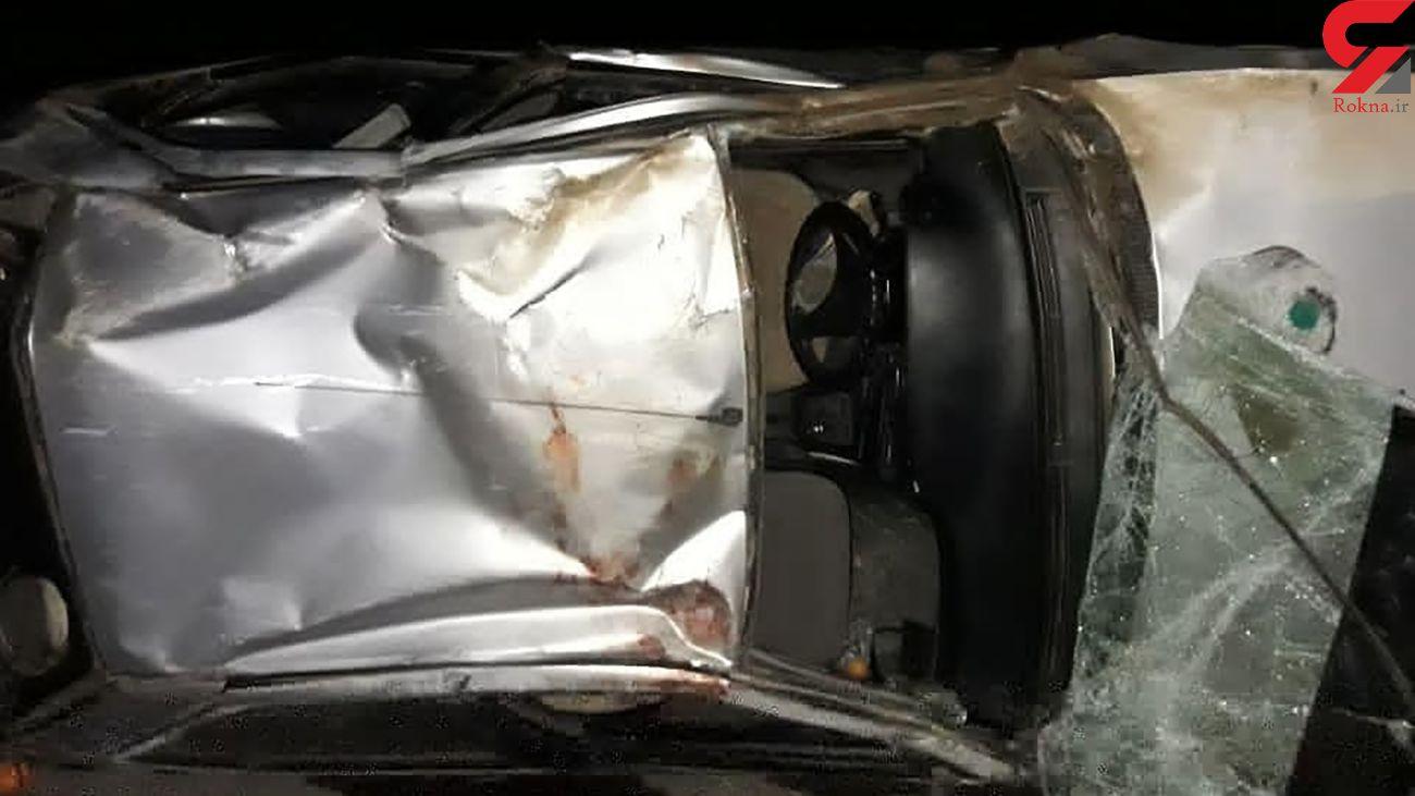۳ کشته و ۷ مصدوم در تصادف جاده پریکدان ـ یاسوج