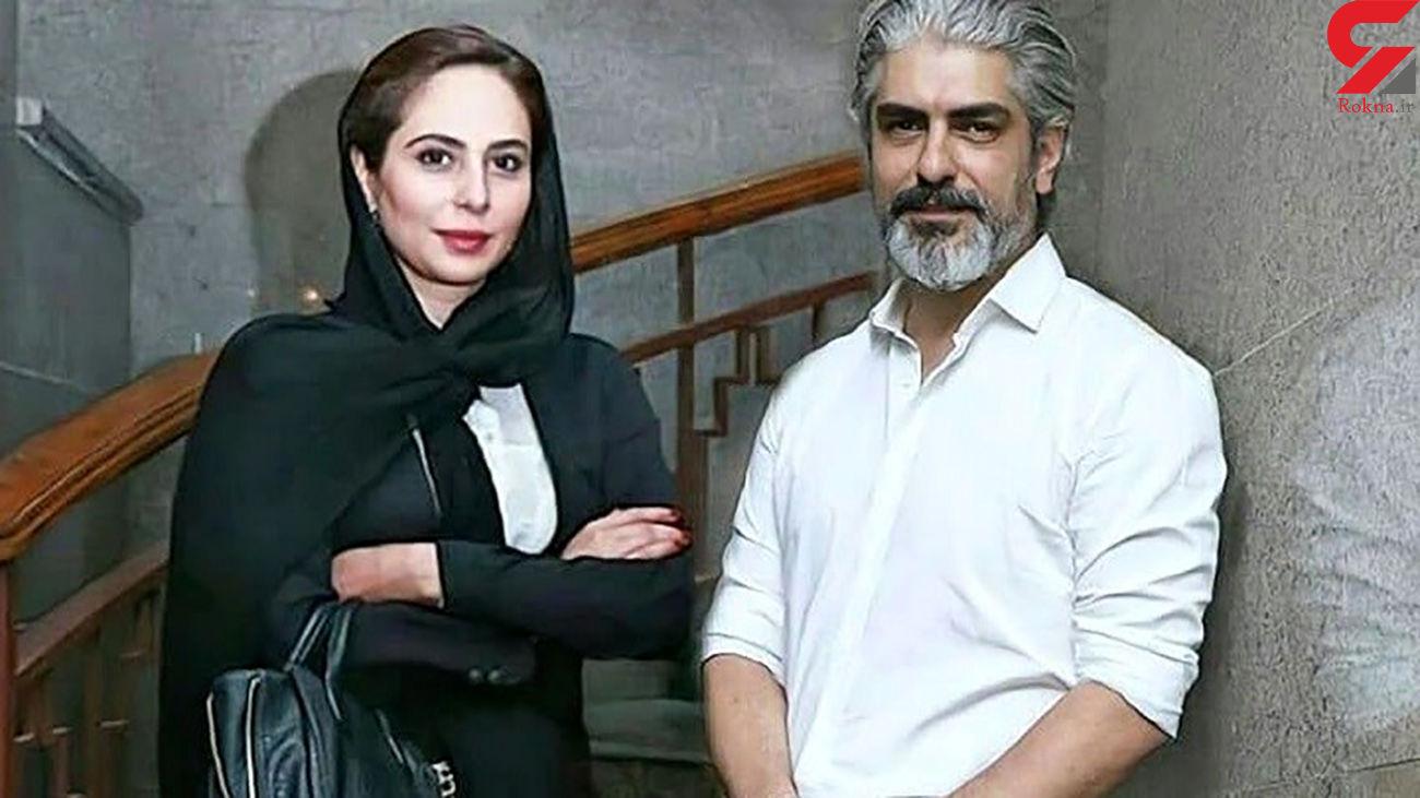 گردش مهدی پاکدل با همسر دوم و دوستانش + عکس