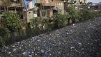 منظره ای غم انگیز از آلودهترین رودخانه دنیا +عکس
