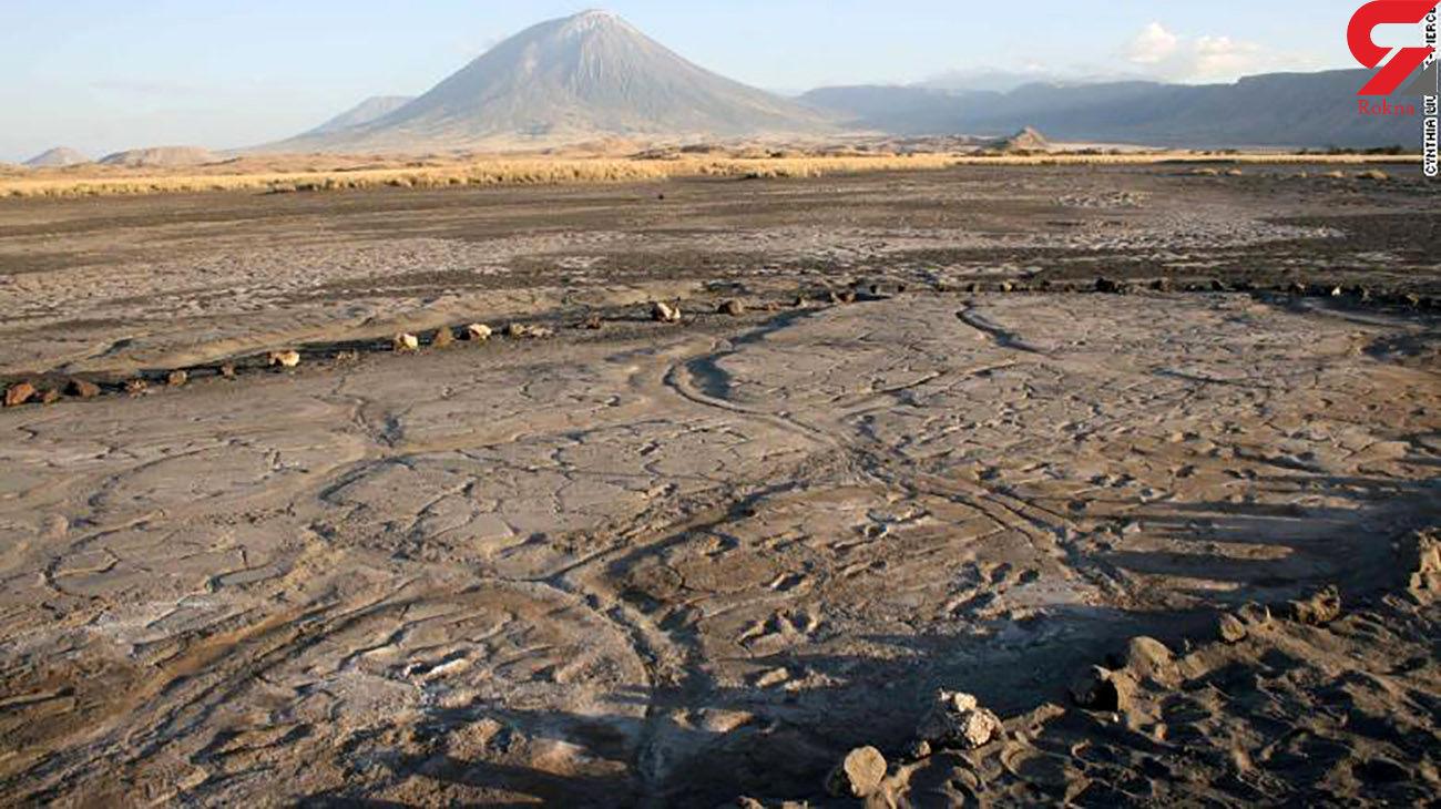 ردپای فسیل انسان ها در آفریقا + عکس