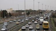 وضعیت ترافیکی معابر تهران / در اولین روز کاری سال ۹۸