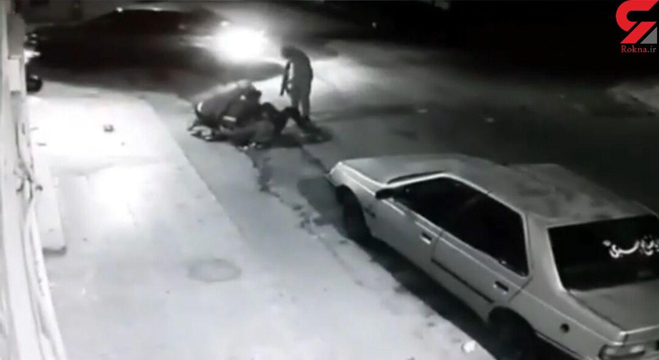 فیلم زورگیری مسلحانه از یک زن در دزفول / پلیس توضیح داد