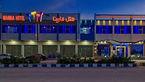 آتش سوزی در هتل مارینای قشم+فیلم